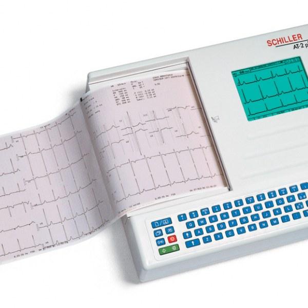 Schiller Cardiovit AT-2plus Interpretive ECG With Standard Accessories & C Software